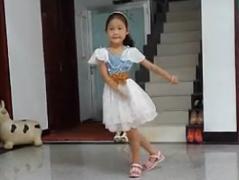 儿童舞蹈兔女郎 编舞珍珍 快乐小天使广场舞