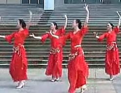 紫蝶踏歌广场舞紫色桑巴 阿中中广场舞紫色桑巴教学视频