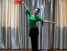 九江向霞广场舞向着太阳歌唱分解教学和背面演示 九江百姓健康舞向霞健身舞团