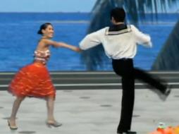 杨艺水兵舞第八讲 水兵登步点步拧转 吉特巴 交谊舞