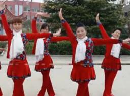 惠汝广场舞喜庆新年乐正面背面含教学 何慧儿《喜庆新年乐》歌词mp3下载