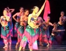 女子群舞《桃花红杏花白》 民族舞蹈 民间舞蹈