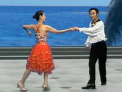 杨艺水兵舞第九讲 拉花变步,左右闪步 规范交谊舞吉特巴
