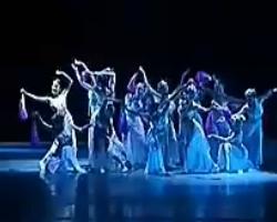 民族舞 群舞《雨中花》 视频音乐mp3免费下载