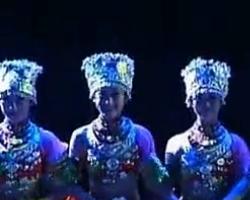 第十届桃李杯舞蹈比赛 民族民间舞 姐妹们 深圳艺术学校