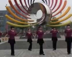 北京加州广场舞请到草原来 含背面示范 中老年简单广场舞