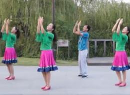 紫紫雨广场舞远方的孩子集体版 编舞応子