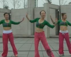 龍都舞動晨韻廣場舞《歡樂的海洋》含背面示范 最新原創藏族舞健身操