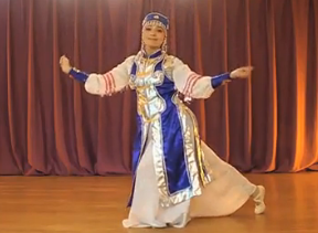 民族舞鸿雁 蒙古族舞蹈 北京v5舞蹈工作室