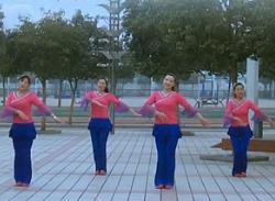 青馨明月廣場舞甜蜜愛情 編舞花語 大方好看的中老年廣場舞