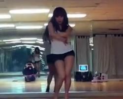 韩国美女街舞教学 金泫雅Hyuna Bubble pop 超清街舞视频