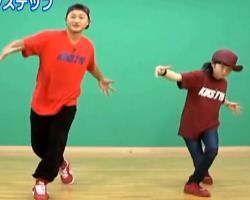街舞滑步教学 日本街舞教学 中文字幕