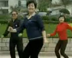中老年健身舞 三串连 时尚健身舞