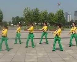 僵尸舞 靖江韵律广场舞 含分解教学 时尚简单健身舞