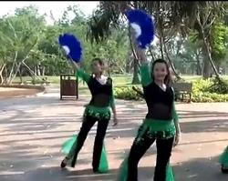 最新原创扇子舞 2014舞依秀广场舞