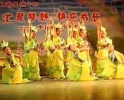 儿童舞蹈 喜鹊叫喳喳 最新简单易学儿童舞蹈表演