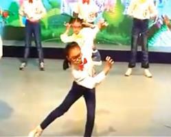 狐狸叫 时尚儿童舞蹈表演 简单儿童舞蹈
