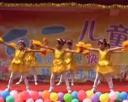 儿童舞蹈桃花朵朵开 最新简单易学儿童舞蹈