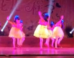 儿童舞蹈小苹果 简单舞蹈动作 儿童舞蹈舞台表演