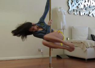 第14部 钢管舞完整教学 Dirdy Birdy 钢管舞技巧教学 超清教学视频免费下载