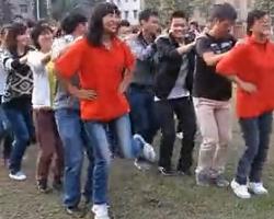最简单舞蹈 兔子舞 左右简单版