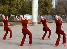 高安子君广场舞放下 原创广场舞正背面演示教学
