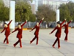 高安子君广场舞阿妈的笑脸 原创广场舞附动作分解与演示