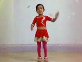 阿采女儿广场舞快乐宝贝 活泼快乐的广场舞 儿童节广场舞