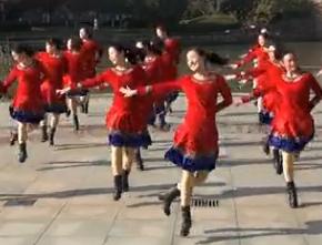 西湖莉莉广场舞大团圆团队演示 大团圆广场舞MP3 MP4下载