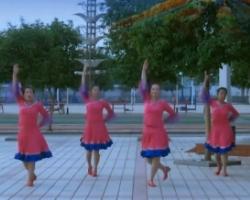 青馨明月廣場舞藏家吉祥 最新超清中老年簡單廣場舞