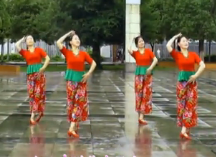 高安子君广场舞九儿正面背面附教学 舞曲《红高粱》歌词mp3下载