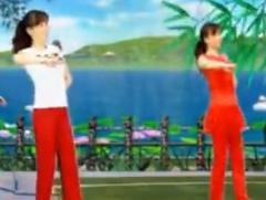 青山青廣場舞中國大媽正面背面演示教學 2015年最新廣場舞
