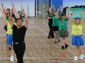 排舞波斯之爱演示教学 全国排舞运动推广中心 2015年排舞推广曲目
