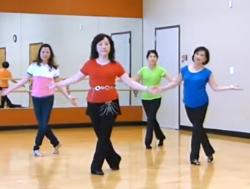 图薇雯排舞快乐脚步 Foot Play 附分解 64拍 4个方向