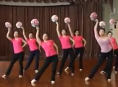 舞蹈茉莉花 上海开放大学古典舞团扇舞
