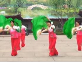 扇子舞红粉雨 编舞阿中中 比赛队形版 高胜美《红粉雨》歌词歌曲下载