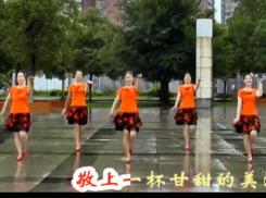 高安子君广场舞唱家乡 附动作分解与背面演示 《唱家乡》歌词MP3下载