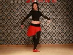 肚皮舞《女王》教学 第1集 单色舞蹈武汉舞蹈培训