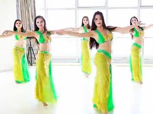 单色舞蹈 光谷肚皮舞《我的爱人》 教练班学员学习展示 武昌肚皮舞培训