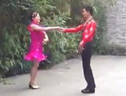 温州三步踩芙蓉雨 交谊舞