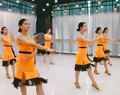 拉丁舞舞蹈视频 单色舞蹈