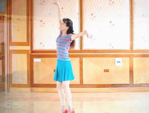 青山青廣場舞浪漫草原正面背面演示含教學