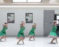 紫紫雨广场舞雪 含背面动作示范 简单优美广场舞舞蹈