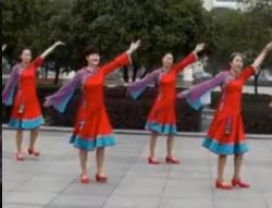 高安子君广场舞卓玛的眼睛正面背面含教学 泽旺多吉《卓玛的眼睛》歌词mp3下载