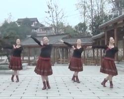 紫蝶踏歌广场舞三德歌 最新原创广场舞 含详细分解教学