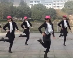 西湖莉莉广场舞自由疯 西湖莉莉舞蹈团 2016原创新编广场舞舞蹈