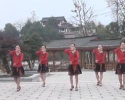 紫蝶踏歌广场舞畲水秋歌 新编原创广场舞教学 含动作分解背面示范