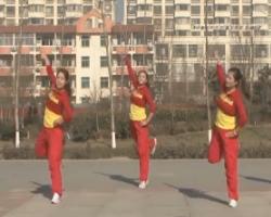 龍都舞動晨韻廣場舞 迎新年串燒 原創串燒版健身操 含背面動作示范