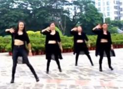 2016新舞-凤凰香香现代舞《BANG BANG BANG 》表演版 动感潇洒的广场舞