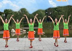 2016年新舞-馨梅广场舞栀子花开正反面含教学 王梅广场舞栀子花开 形体芭蕾舞